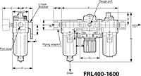 FRL400/1600 Series Modular Filter, Regulator and Lubricator Components-2