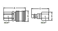 HCouplings-Series1000-Female-secondary