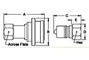 Steam Coupling (Secondary), Series 3-HK